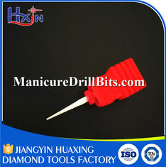 China Fine Nail Drill Safety Bit , Nail Machine Bits HXTC-101 Wear Resistance supplier