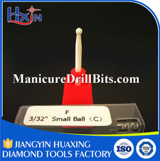 China Lightweight Ceramic Nail Drill Bit For Handheld Nail Drill HXTC-081 OEM Available supplier
