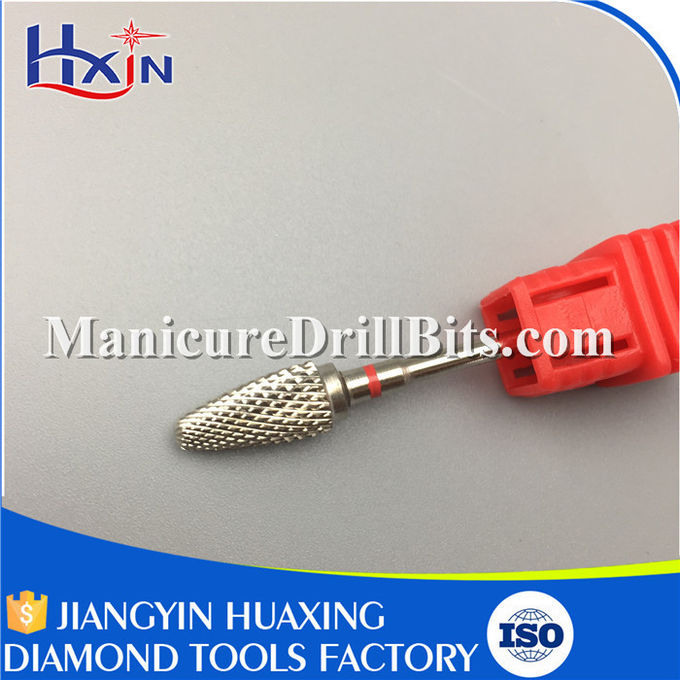 4.13mm Cuticle Clean Drill Bit For Electric Nail Grooming Kit HXH0413P Flameproof