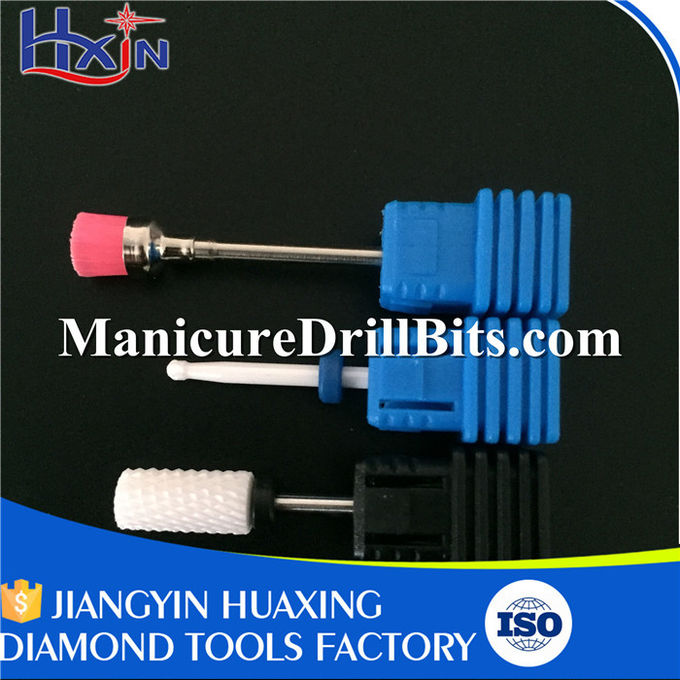 Fine Nail Drill Safety Bit , Nail Machine Bits HXTC-101 Wear Resistance